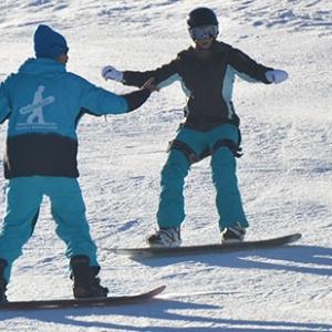 Lezione di snowboard cortina d'Ampezzo