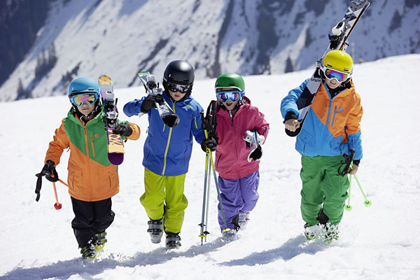 Ski rental for kids