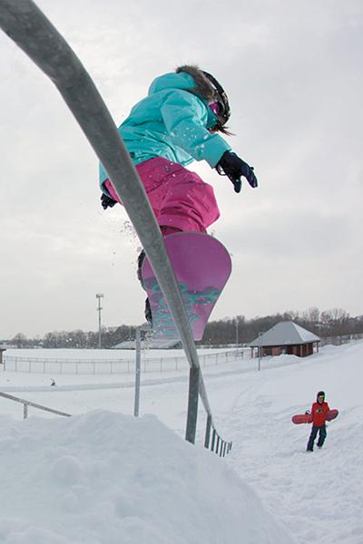 Noleggio snowboard bambini