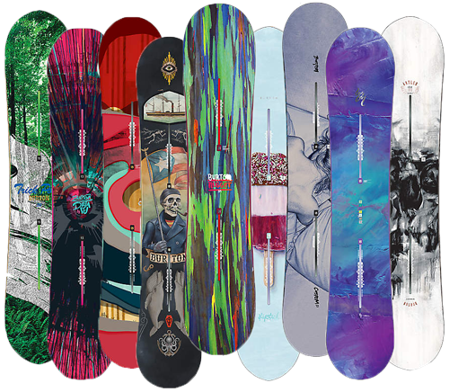 Wide variety of burton snowboard to rent
