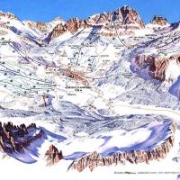 Mappa piste Cortina d'Ampezzo