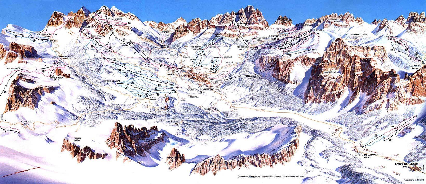 Half Day In Cortina Noleggio Sci Cortina