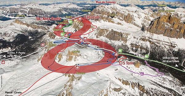 Mappa Super8 Tour