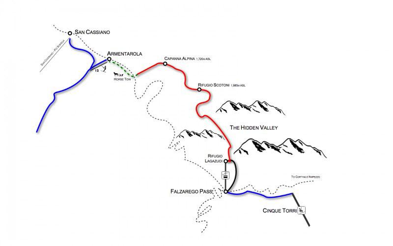 The Hidden Valley Map