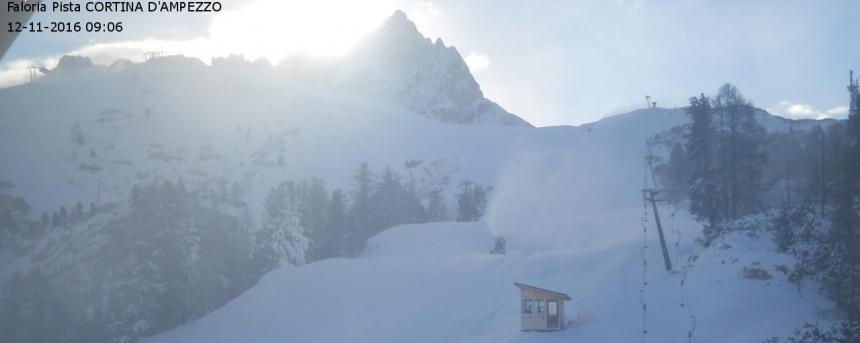 Apertura impianti Cortina d'Ampezzo