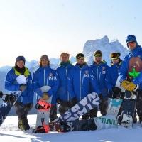Maestri scuola snowboard Cortina